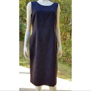 Jones Studio Black Floral Patterned Dress, 10